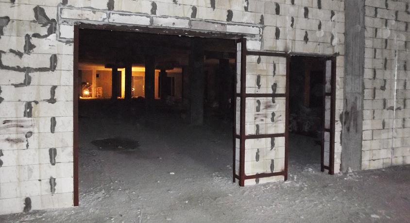 Укрепление стен металлоконструкциями в Киеве